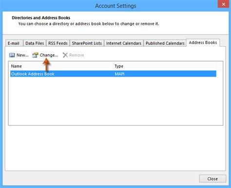 Outlook Address Book Search How To Remove Address Books In Outlook