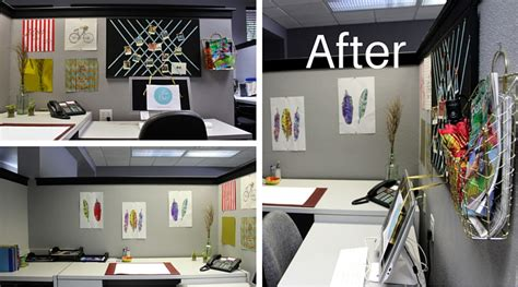 diy decorations office beautiful diy cubicle decor for 50 or