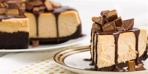 best chocolate peanut butter cheesecake recipe chocolate peanut butter cheesecake delish com