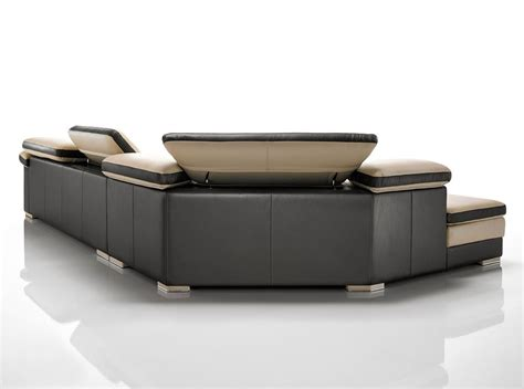 modern italian leather sectional samoa contemporary full italian leather sectional sofa