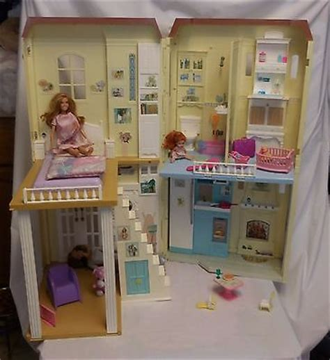 happy family doll house barbie happy family doll house lights interactive sounds lights 2004 mattel cad
