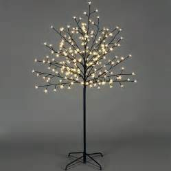premier warm white led cherry twig tree 1 5m charlies