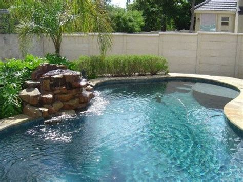 pool designs with waterfalls best 25 pool waterfall ideas on pinterest pool fountain