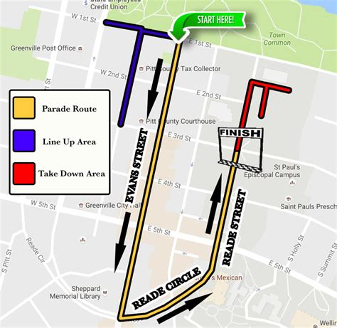 route of new year parade 2016 parade route