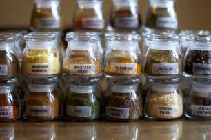 Clear Glass Kitchen Canisters how to make an overly obsessive spice rack smitten kitchen