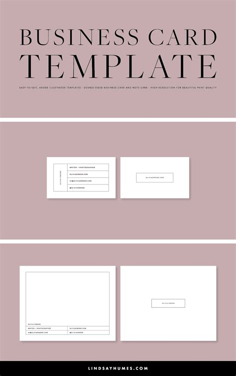 adobe illustrator business card template awesome
