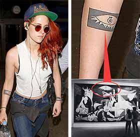 kristen stewart tattoo meaning kristen stewart meaning student projects