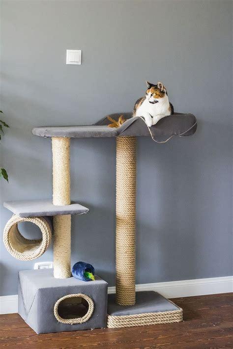 drapak dla kota diy drapaki dla kotow kocie diy kotek