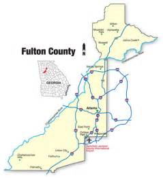fulton county map map
