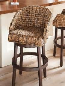 wicker kitchen island chairs seagrass bar stools foter