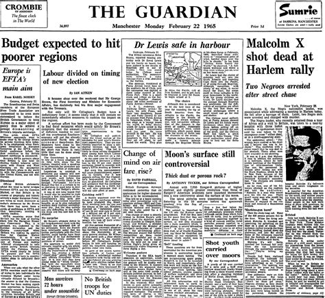books blog books the guardian latest us news world malcolm x killed 50th anniversary from the archive us