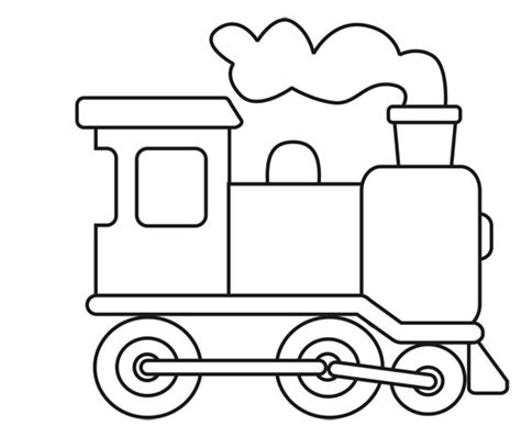 Imagenes Para Colorear Un Tren | dibujos de trenes para pintar colorear im 225 genes
