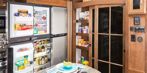 Pantry On The Go by 2017 Luxury Fifth Wheel Jayco Inc