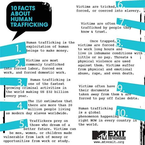 10 Facts On by 84 Best Images About Human Trafficking On
