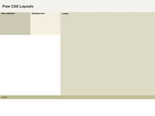 css layout one page free css website layouts page 15 of 21 free css layouts