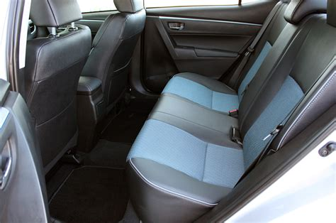 Toyota Corolla 2014 Trunk Space 2014 Toyota Corolla Test Drive