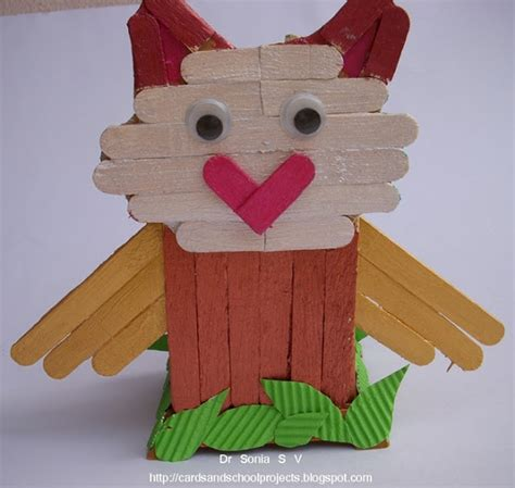 popsicle crafts projects recycling ideas popsicle stick craft tutorial ladybird