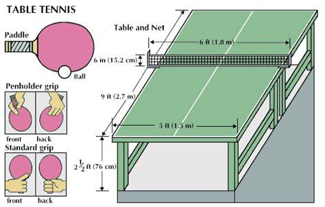 Table Tennis Kids Encyclopedia Children S Homework Table Tennis Equipment