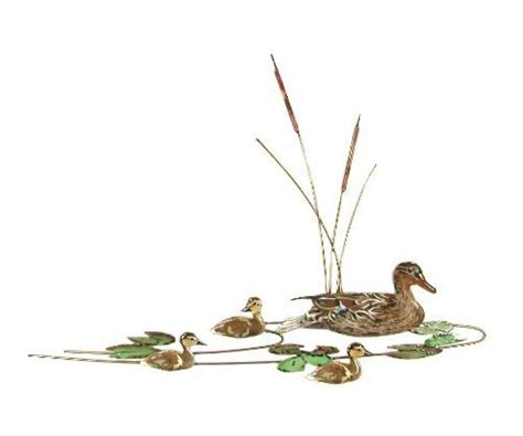 mallard duck home decor bovano enamel wall art decor mallard duck ducklings new