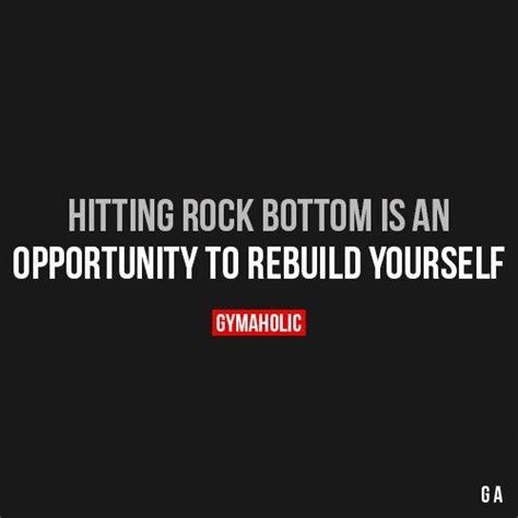 Hits Rock Bottom by Best 25 Rock Bottom Quotes Ideas On