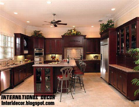 Classic Cabinets And Design by Classic Wood Kitchen Cabinets Designs Wood Kitchen
