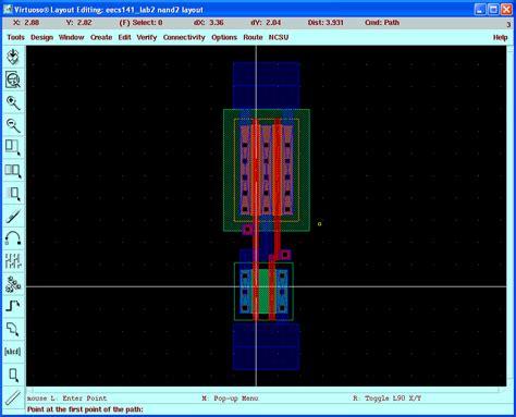 lab layout design software virtuoso tutorial