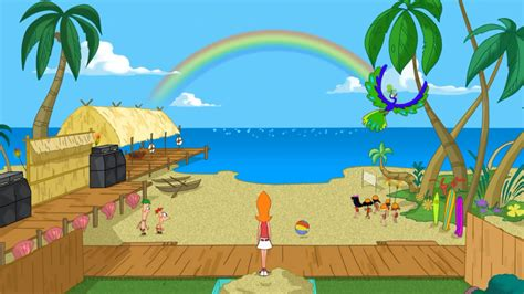 phineas and ferb backyard beach episode phineas and ferb wiki reference materials phineas and