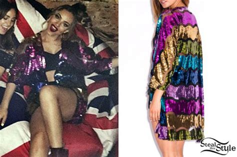 Ck Dress Kimono Sabrina photo posted by jade thirlwall on instagram