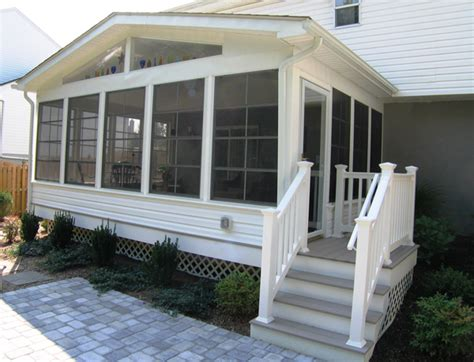 Closed In Patio by Screen Porches Maryland Washington Dc Va Pa De