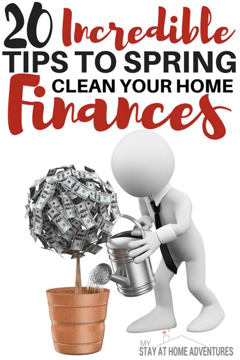 tips to clean your house 20 tips to spring clean your home finances today