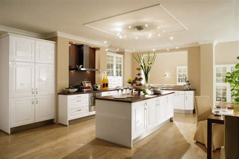 transitional white kitchens by alno transitional