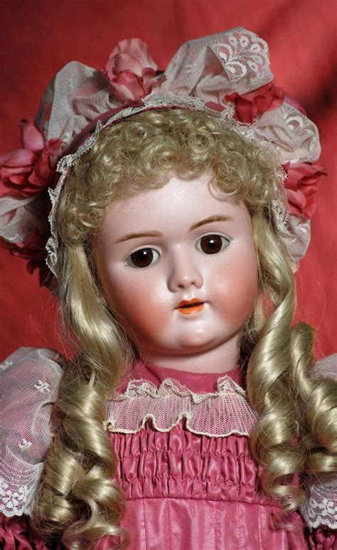 antique bisque doll markings large german bisque child doll by handwerck marks lot