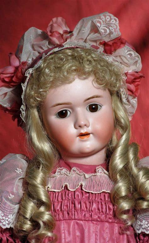 vintage bisque doll markings large german bisque child doll by handwerck marks lot