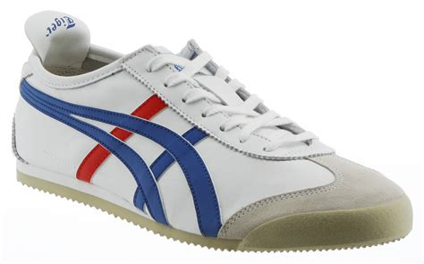 tiger shoes onitsuka tiger mexico 66 white blue trainers shoes ebay