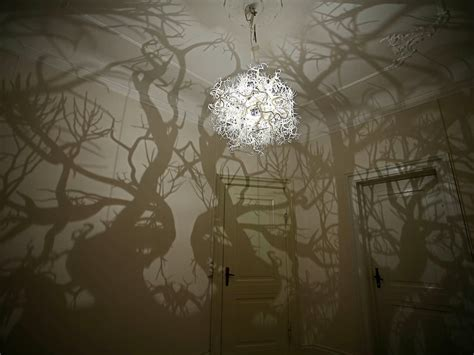 Chandelier That Turns Your Room Into A Forest Fairytale Chandelier Turns Room Into Forest Home Voyeurs A Peek Into Homes