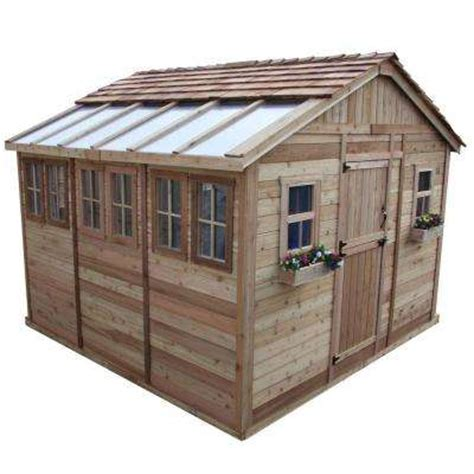 Home Depot Outdoor Storage Shed by Wood Sheds Sheds The Home Depot