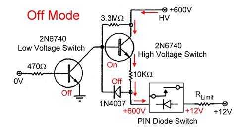 pin diode switching electronic t r switching and the ameritron qsk 5 pin switch driver turning a pin diode