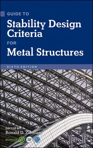 Wiley Guide To Stability Design Criteria For Metal