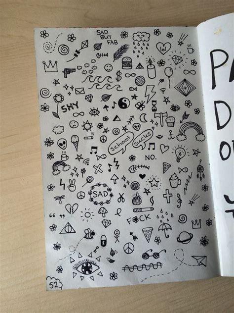 doodle imagine draw notebook e3f03a40bf8e2775725311ab9311ba0f simple doodles random