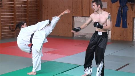 real fights karate vs streetfighter real fight