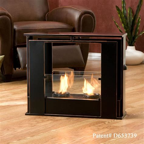 portable patio fireplace sei portable indoor outdoor fireplace gel