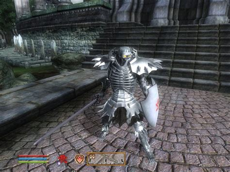 skyrim knight of skeleton armor mod skull knight without cape at oblivion nexus mods and