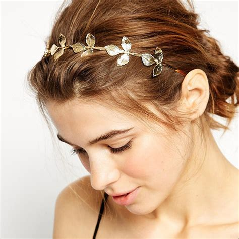 Wedding Hair Accessories Gold by Wedding Hair Accessories Bridal Gold Leaves Headband