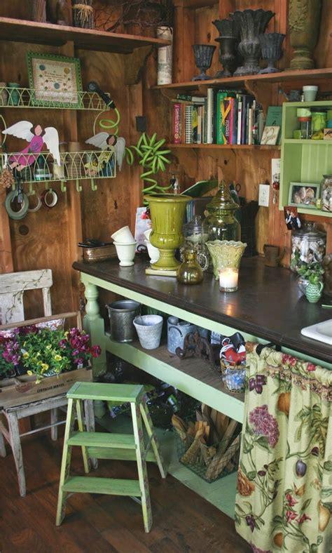garden shed interiors ideas  pinterest