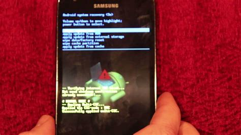 reset of samsung galaxy s2 samsung galaxy s2 lte how to hard reset factory wipe youtube