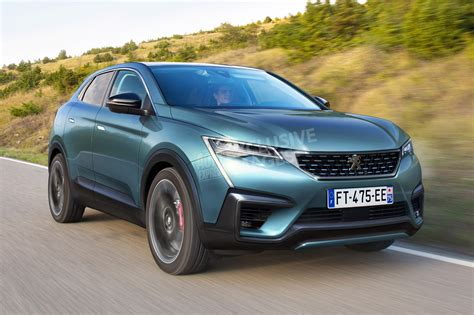 used peugeot 4008 new peugeot 4008 coupe suv set to arrive in 2020 auto