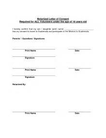 notary signature template best photos of template of notarized letter sle
