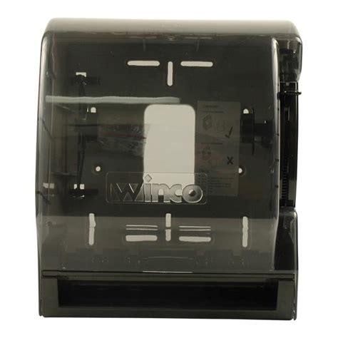 Dispenser Td winco td 500 roll paper towel dispenser with lever