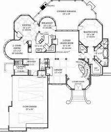 free mansion floor plans hennessey house 7805 4 bedrooms and 4 baths the house designers