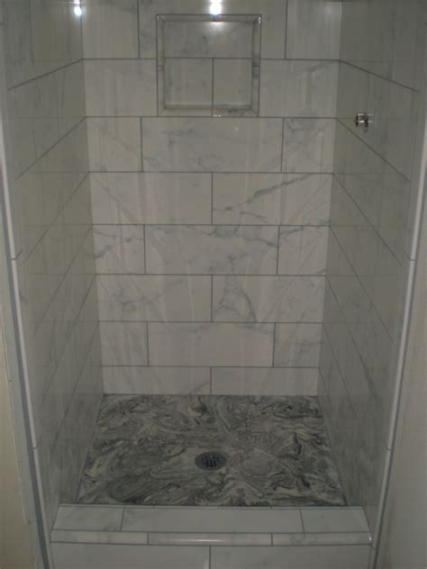 porcelain tile for bathroom shower gray wood tile floors wood hues to striking shiny grey